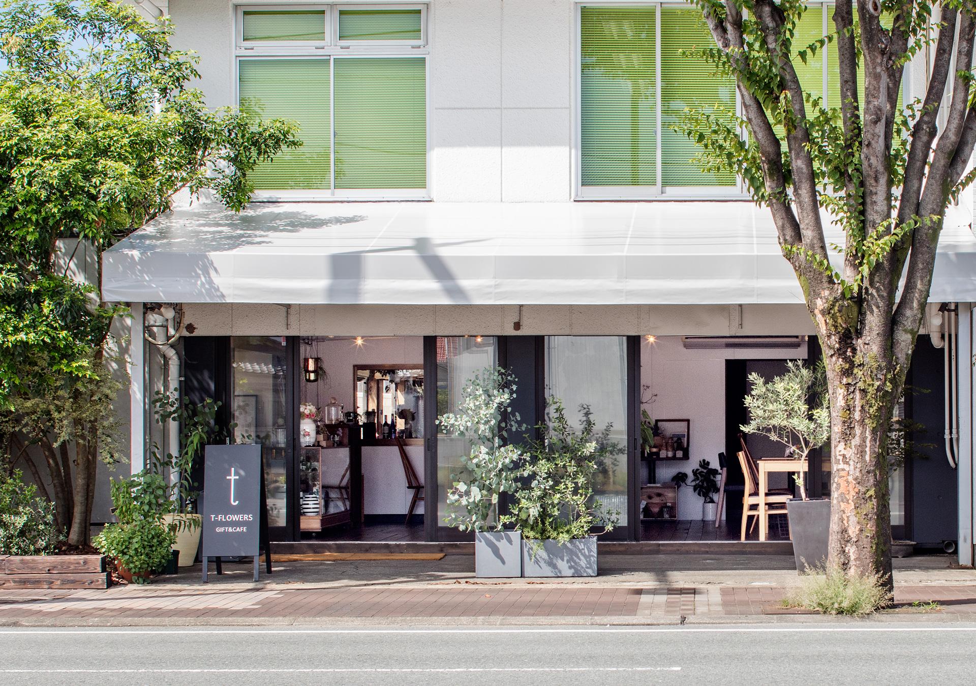 熊本市西区花屋カフェ T-FLOWERS ティ-フラワーズ